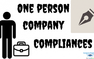 One Person Company Compliances