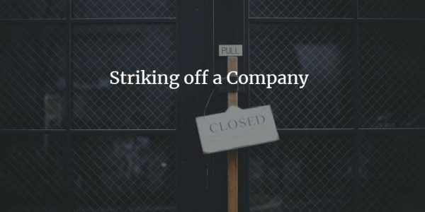 strike off company under companies act 2013